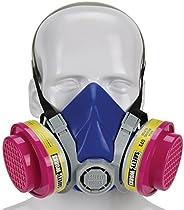 Safety Works SWX00320 多功能*器半面罩 Nosh Ov/AG/P100