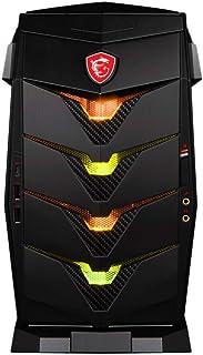 MSI 微星 Aegis 3 9SA-241EU 台式电脑(英特尔酷睿i5 – 9400F,8 GB 内存,1 TB 硬盘,256 GB 固态硬盘,Nvidia GeForce RTX 1650 Ventus XS,Windows 10 家庭版)黑色