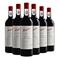 【亚马逊直采】Penfolds 奔富 Bin 2 设拉子玛塔罗 干红葡萄酒750ml*6(亚马逊直采红酒,澳大利亚品牌)