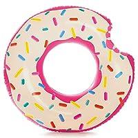 INTEX 甜甜圈充气游泳圈 42 x 39 英寸(约 106.7x 99.1厘米)