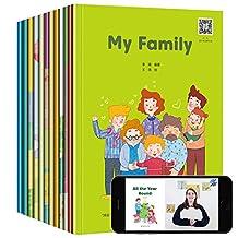 赠视频幼儿英语分级阅读 入门级全12册 培生英文绘本书籍0-3-6岁宝宝早教书零基础有声启蒙教材 英语读物自然拼读剑桥少儿英语读物