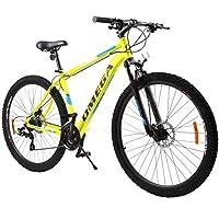 OMEGA BIKES 中性款 – 成人 Thomas 自行车,街头,MTB 自行车,黄色,29