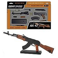 GOAT GUNS 玩具 AK47 型号   黑色压铸金属   DIY 组装套件