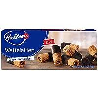 Bahlsen Waffeletten - Delicate Wafer Rolls dipped 欧洲巧克力色 12 boxes