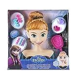 Disney 迪士尼 Frozen 冰雪奇缘 16637FR – 造型用头 Anna,发型设计用头
