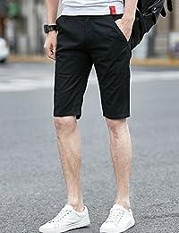 MPSMOVE 思慕夫 2018夏季男装时尚精梳棉面料休闲五分裤男士短裤多色中裤男UK507【624】