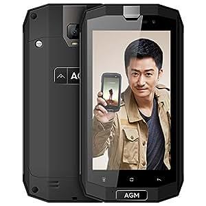 AGM(手机) a1q三防智能手机战狼全网通老人机超长待机防水军工手 (4+64G橡胶黑)