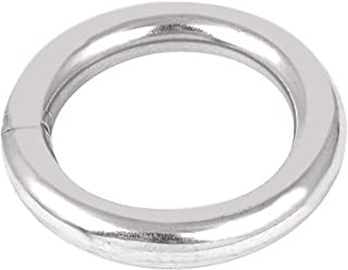 Uxcell a16022600ux0037 M10 x 60mm 201 不锈钢织带焊接O 形环