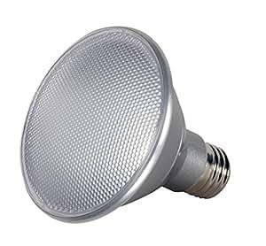 Satco LED 光束发散普通式插座灯泡 4000K Cool White PAR30 Short Neck S9423