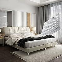 【下单赠价值398元乳胶枕1个】左右 皮床1.8m双人床 头层牛皮 现代卧室 真皮软床套装 227cm*153cm*100cm