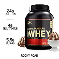 Optimum Nutrition 歐普特蒙 金牌乳清蛋白營養粉 香草冰淇淋口味,1瓶裝 2.273 kg