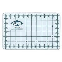 Alvin 专业半透明切割垫 12 inches x 18 inches 透明