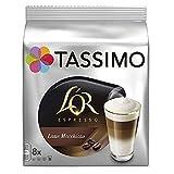 Tassimo L'OR 拿铁玛奇朵 咖啡胶囊 (5包,共计80个,40份)