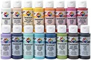 Delta Creative Color Ceramcoat 丙烯酸颜料 混色 PROMOADA3