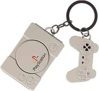 官方索尼 PlayStation 控制台和控制器复古金属钥匙圈