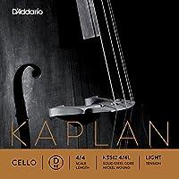 D'Addario 达达里奥 Kaplan 低张力 4/4 大提琴 D 弦单弦(KS512 4/4L)(新老包装随机发货)