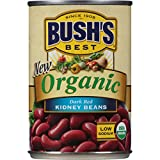 Bush's Best Organic Dark Red Kidney Beans, 15 oz (12 cans)