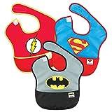 Bumkins 防水围嘴 3 件装(6-24 个月) DC Super Friends 6-24 个月