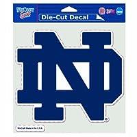 Wincraft NCAA Nore Dame Fighting Irish 20.32 x 20.32 cm 模切和标志彩色贴花