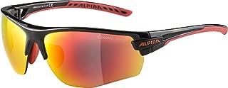 Alpina 中性款 - 成人 TRI-SCRAY 2.0 HR 运动护目镜,黑色/红色,均码