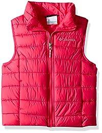 Columbia 男童 Powder Lite 羽绒背心 Cactus Pink X-Large