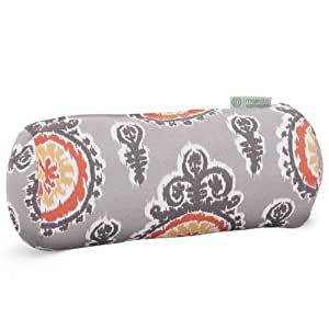 Indoor/Outdoor Michelle Round Bolster Pillow 柑橘 18.5(wide) x7(long) x 8(high) Inch