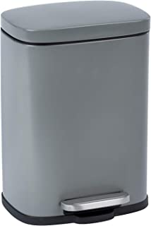 Wenko Leno 23716100 踏板箱易关闭白色 – 带软关闭功能的箱子 – 钢 – 21.5 x 19 x 29.5 厘米