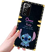DISNEY COLLECTION 三星 Galaxy Note 20 Ultra Case Stitch 图案设计闪光金色超薄炫酷防震防撞保护 Galaxy Note 20 Ultra Cover 6.9 英寸 202