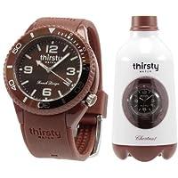 [Thirsty]Thirsty 手表 FRUIT JUICE COLLECTION(水果汁 收藏) Chestnut(国际象棋) 5952 0012 【正规进口商品】