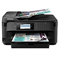 EPSON 爱普生 WorkForce WF-7710DWF A3无线网络打印机,扫描和传真复印机