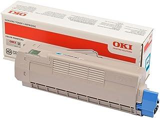 OKI 碳粉盒 青色 C612 6K