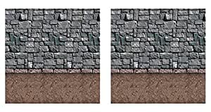 Beistle 泥土地板背景 多种颜色 S00910AZ2
