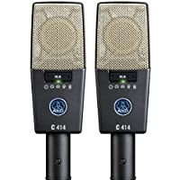 AKG PRO AUDIO c414XLS stereoset 仪器电容麦克风,多图形模式