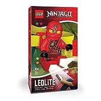 LEGO Ninjago Kai 头灯 - 弹性头带明亮 LED 灯和 TimerNinjago