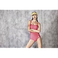 arena 阿瑞娜 女式 温泉泳衣连体平角泳衣性感小胸聚拢高弹拢遮肚显瘦 CLS8250W
