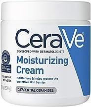 CeraVe 保湿霜  19盎司/539克  日用面部和身体保湿霜,适合干性皮肤