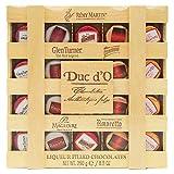 Duc d'O 迪克多 比利时进口 木盒酒芯/酒心巧克力250g 节日礼物