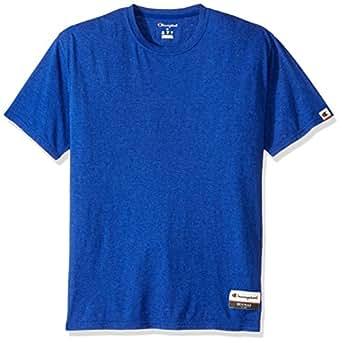 Champion 男式正品原装 水洗加软 短袖 T 恤  Athletic Royal Heather Small
