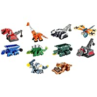 Dinotrux Diecast 10-Pack Dreamworks Rux Scoot Garby Skya Pounder Claw Ton Mattel