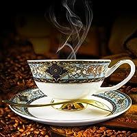 金箔宫廷风咖啡杯碟 高档咖啡杯具 经典咖啡餐具 酒店批发餐具 精品骨瓷