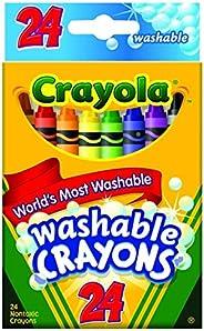 Crayola 24 支可洗蜡笔. 3-Packs