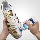 【白鞋清洗剂】小白鞋神器一擦白清洁剂白鞋清洗去黄边增白擦鞋洗鞋洗白刷鞋去污 (白鞋清洗剂5瓶+增白剂1瓶)