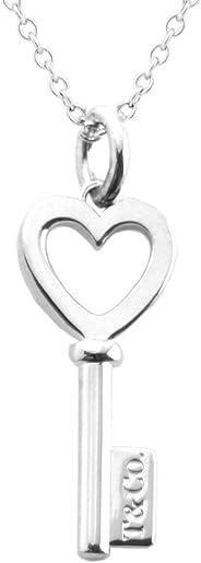 Tiffany & Co 蒂芙尼 純銀 心形鑰匙吊墜項鏈 鑰匙主題 41cm 35483853
