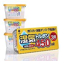 日本进口抽屉衣柜除湿盒 室内干燥剂 防潮剂 橱柜除湿剂 吸湿剂 防霉防潮 3盒装