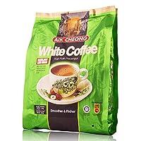 AIK CHEONG 益昌 三合一白咖啡榛果味减少糖(30g*15包)450g(马来西亚进口)(新老包装随机发货)
