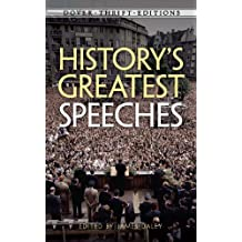 History's Greatest Speeches (Dover Thrift Editions) (English Edition)