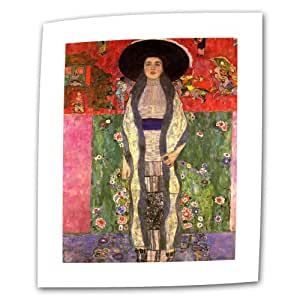 Art Wall Adele Bloch Bauer 24 by 36-Inch Flat/Rolled Canvas by Gustav Klimt with 2-Inch Accent Border