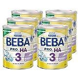 Nestlé BEBA 德国雀巢贝巴 Pro Ha 较大婴儿低敏水解奶粉3段,适合10个月以上婴儿,6罐装(6x800克)(不含助溶剂,冲泡需用力摇,冲后有结晶非品质问题,请放心食用)