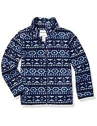 Amazon Essentials 男童全拉链摇粒绒外套