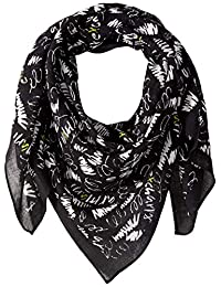 A X Armani Exchange 女式图案围巾